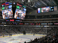 American Airlines Center offers 1080 HD Display for Fans