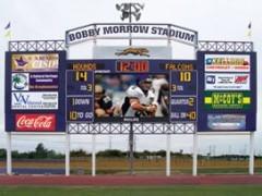High-Tech scoreboard