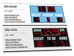 scoreboard widget